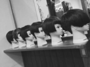 銀座のカットの上手い美容師の練習