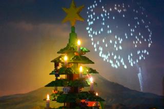 クリスマスツリーのレゴ