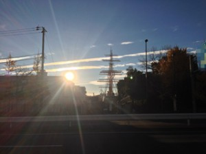 銀座付近の朝