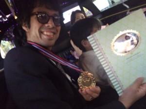 銀座に美容師の金メダル