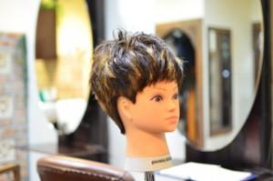 銀座の上手い美容師の練習