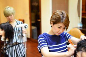 銀座の上手い女性美容師