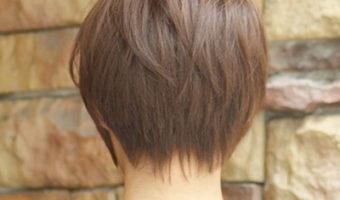 《  ヘアスタイル  》ショートヘアで頭の形を綺麗に見せたい!