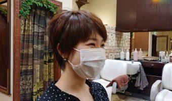 マスクと髪型とSMILE