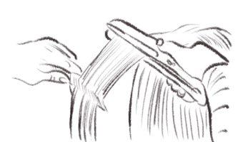 くせ毛の方の日常を快適に/コスメクリーム&縮毛矯正で髪質改善!!