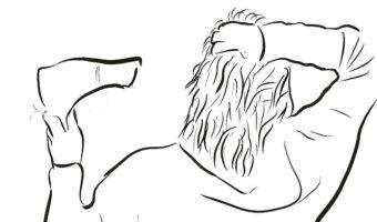 髪をキレイに伸ばしたいとき 分け目はどうするの?