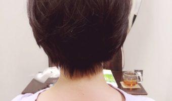 差がつく黒髪ショートヘア!