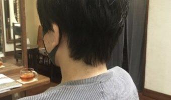 《メンズカット》耳周りのスッキリなマスクヘア!