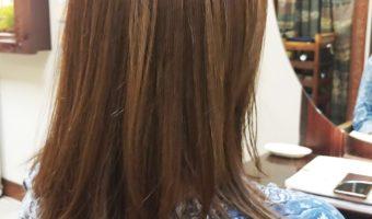 「髪型」ミディアムのビフォーアフター